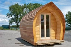 Timber Log Holiday Pod