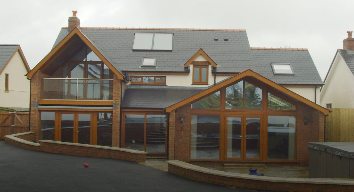 Cartrefi Ffosaron Homes Timber frame specialists West Wales